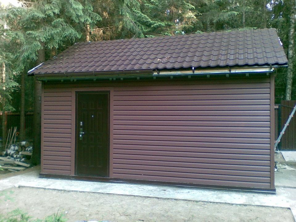 проект утепленного гаража