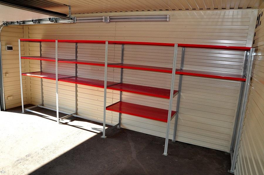 Стеллажи для гаража металлические