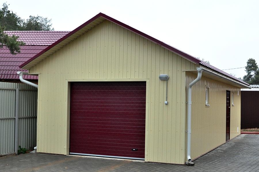 Проекты гаражов