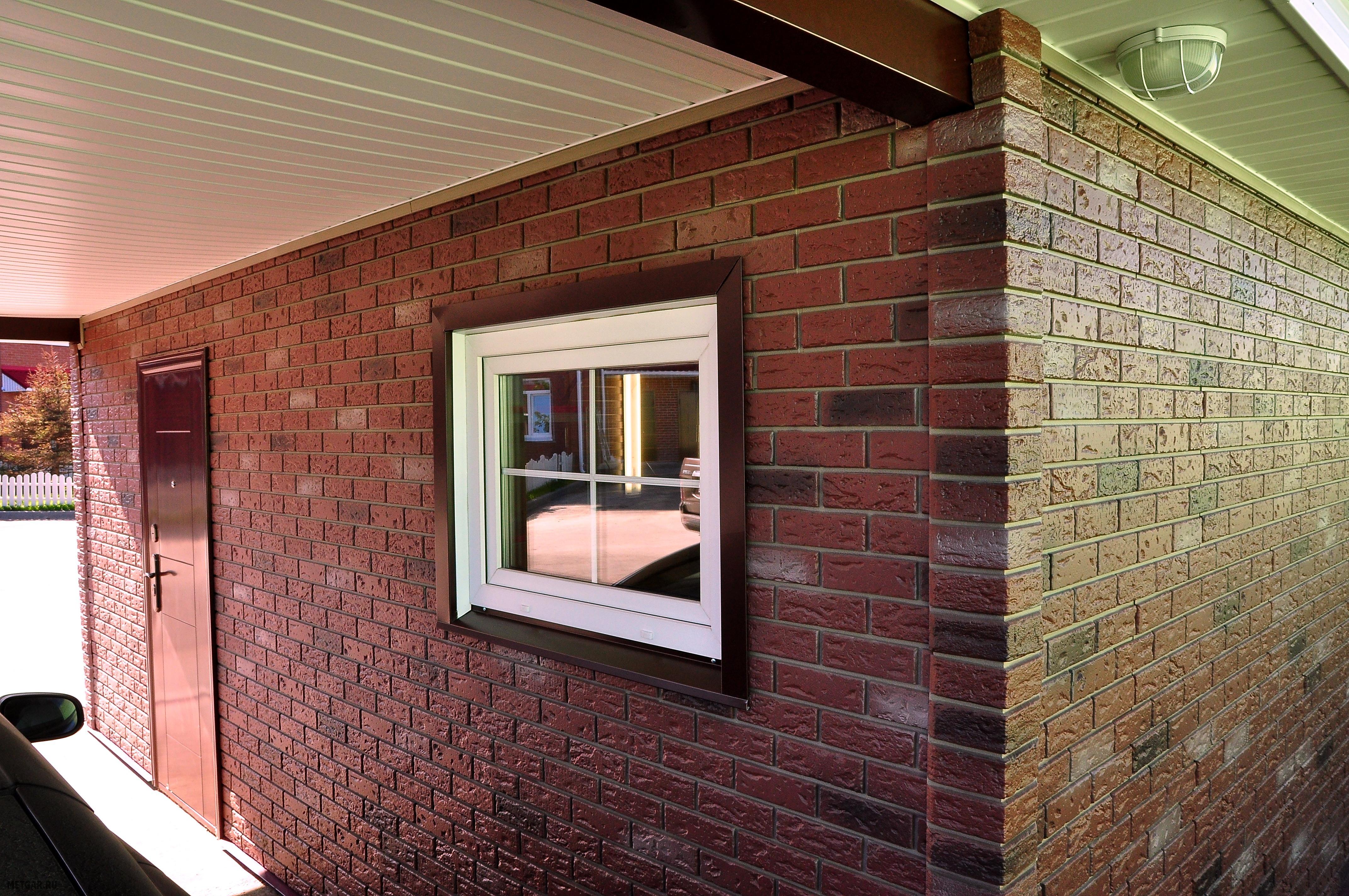 Фасадные панели: виды материала под кирпич, рекомендации по .