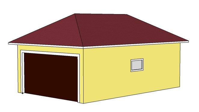 Готовые проекты гаража скачать разборные гаражи в спб купить