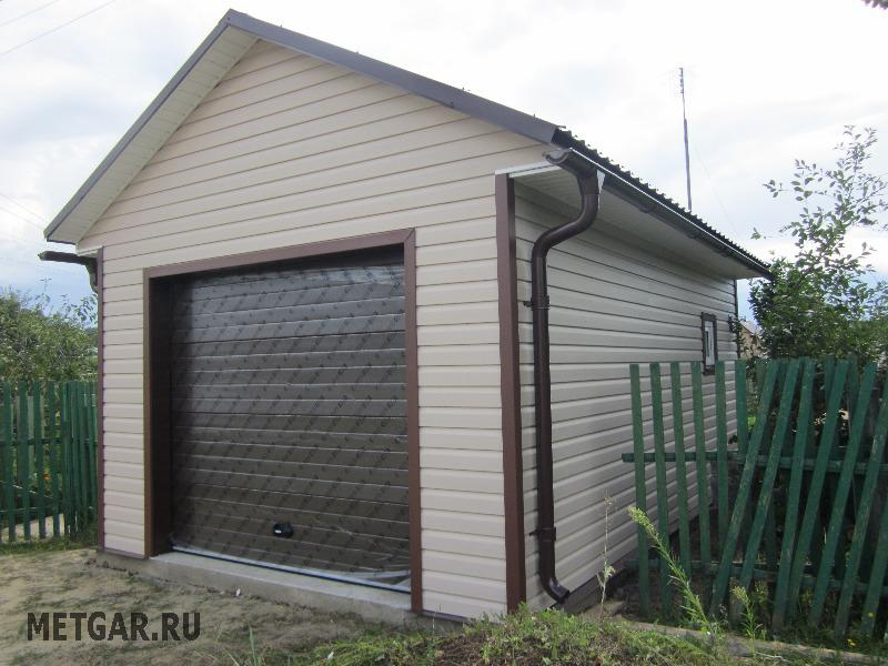 внешняя отделка гаража варианты с фото сысертском
