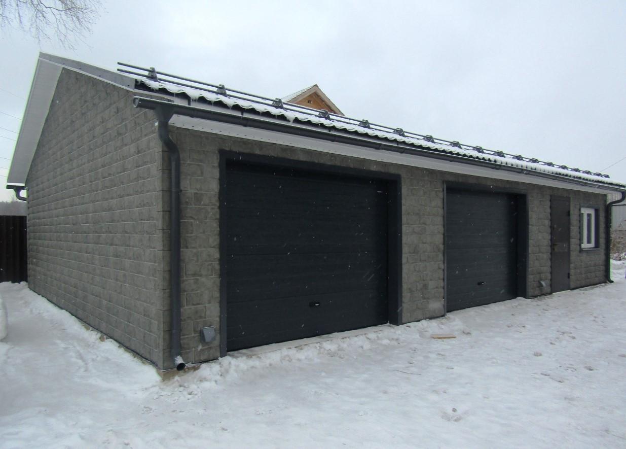 построить гараж 6 на 7